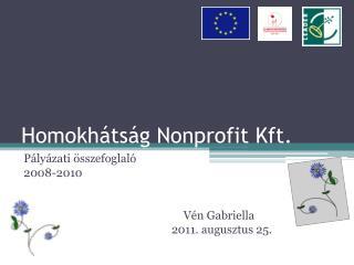 Homokhátság Nonprofit Kft.