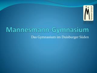 Mannesmann-Gymnasium