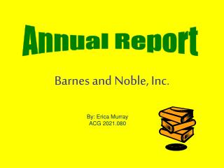 Barnes and Noble, Inc.