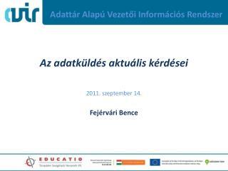Adattár Alapú Vezetői Információs Rendszer