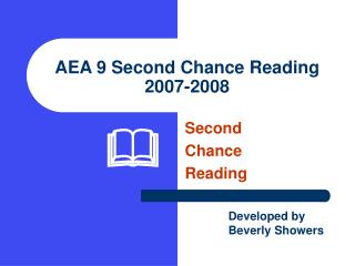 AEA 9 Second Chance Reading 2007-2008