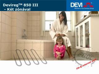 Devireg TM  850 III   -  Két zónával