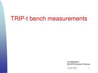 TRIP-t bench measurements