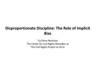 Defining implicit bias