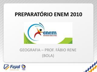 PREPARATÓRIO ENEM 2010