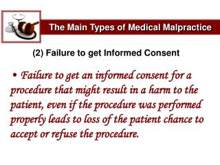The Main Types of Medical Malpractice
