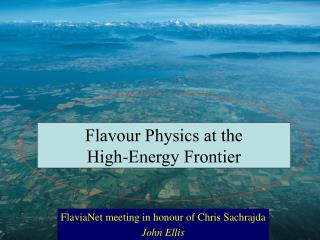 Flavour Physics at the  High-Energy Frontier