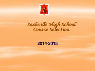 Sackville High School Course Selection