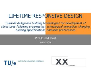 LIFETIME RESPONSIVE DESIGN