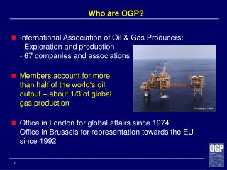 Who are OGP?