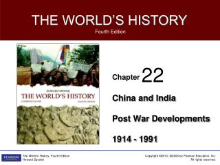 China and India Post War Developments 1914 - 1991