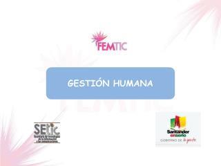 GESTIÓN HUMANA