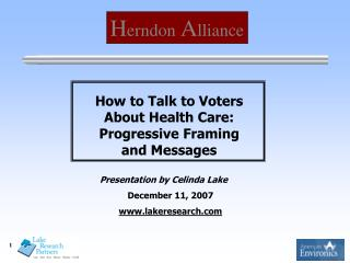 How to Talk to Voters About Health Care: Progressive Framing and Messages