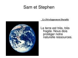 Sam et Stephen