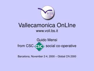 Vallecamonica OnLIne voli.bs.it