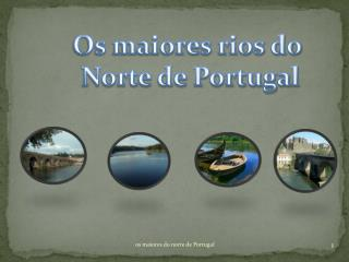 Os maiores rios do  Norte de Portugal