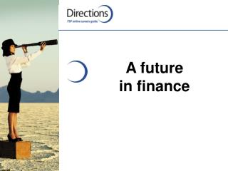 A future  in finance