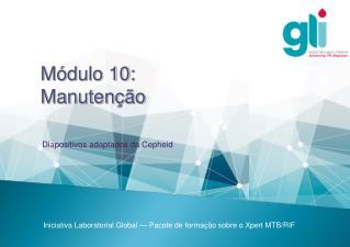 Módulo10:  Manutenção