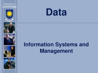 Data Information Systems and Management