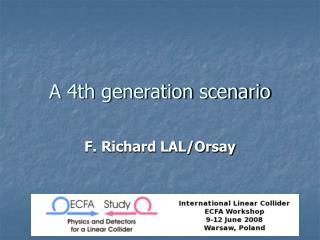 A 4th generation scenario