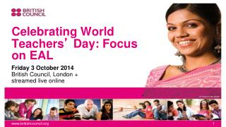 Celebrating World Teachers '  Day: Focus on EAL
