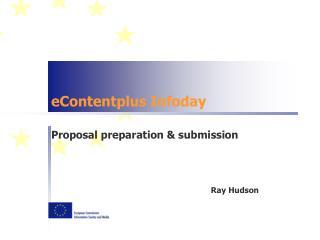 eContentplus Infoday