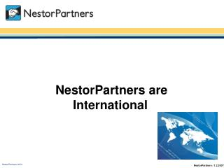 NestorPartners are International