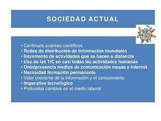 SOCIEDAD ACTUAL
