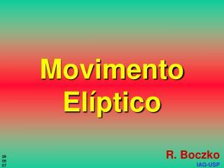 Movimento Elíptico