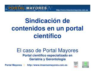Portal Mayores    |     imsersomayores.csic.es