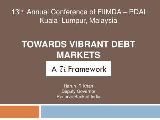 Towards vibrant debt markets