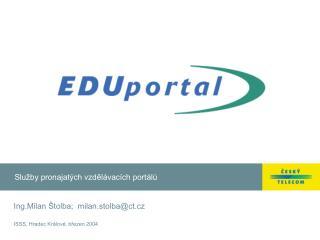 Služby pronajatých vzdělávacích portálů