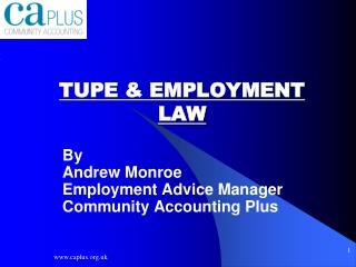 TUPE & EMPLOYMENT LAW