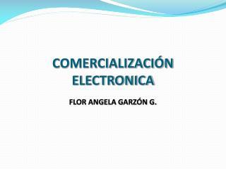 COMERCIALIZACIÓN ELECTRONICA