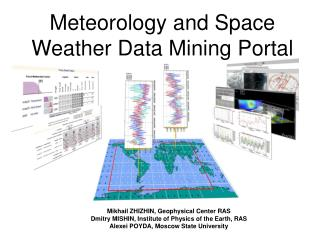 Meteorology and Space Weather Data Mining Portal