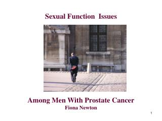 Sexual Function Issues Among Men With Prostate Cancer
