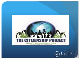 The Citizenship Project: Commitment to Community