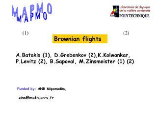 Brownian flights