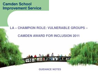 Camden School  Improvement Service
