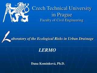Czech Technical University in Prague Faculty of Civil Engineering
