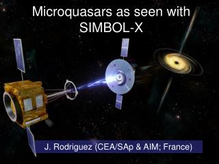 Microquasars as seen with  SIMBOL-X