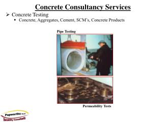 Concrete Consultancy Services