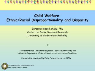 Child Welfare: Ethnic