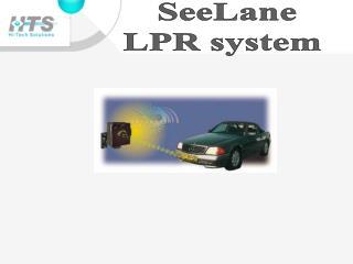 SeeLane LPR system