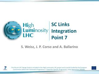 SC Links Integration Point 7