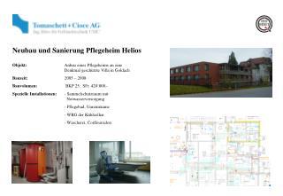 Neubau und Sanierung Pflegeheim Helios
