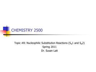 CHEMISTRY 2500