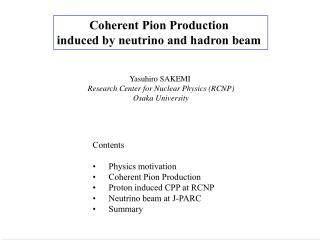 Coherent Pion Production  induced by neutrino and hadron beam
