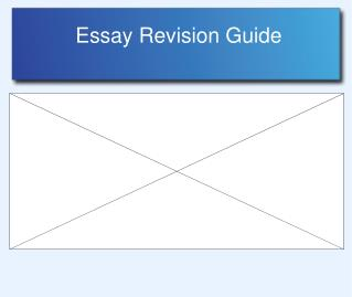 Essay Revision Guide
