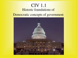 CIV 1.1